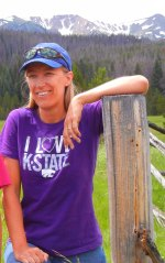 Karen is big on Kansas State University and the Cougs of WSU